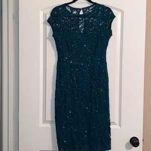 Cute Green dress with sequins